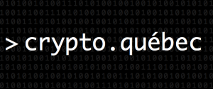 Lancement de crypto.québec