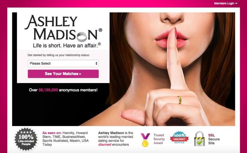 Ashley Madison – fuite des données des utilisateurs