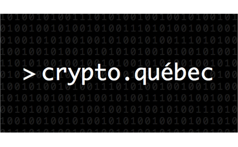 Activités de Crypto.Québec dans le cadre de l'exposition Chambre de verre